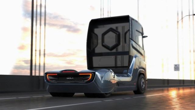 """Раньше """"Теслы"""": Nikola Motors представила водородный грузовик для европейского рынка"""