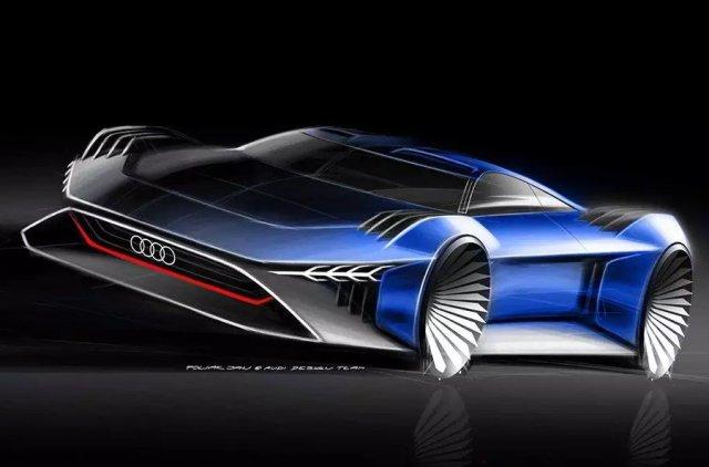 Шпионские фишки и автопилот: Audi придумала электромобиль для мультфильма с Уиллом Смитом