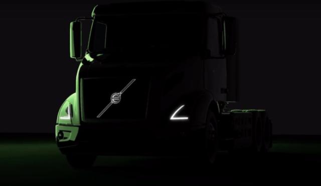 Видео дня: Volvo Trucks показала электротягач, который составит конкуренцию Tesla Semi