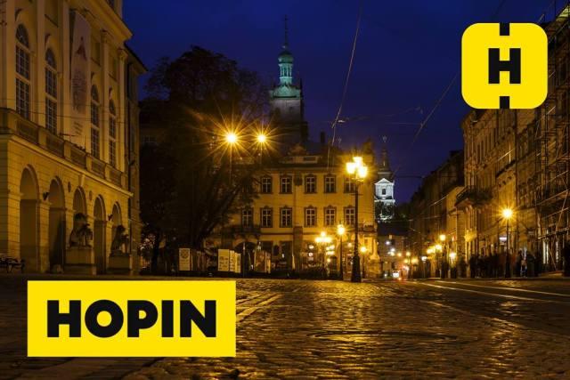 Во Львове запускается сервис заказа такси через приложение HOPIN