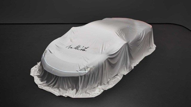 Конкурент Tesla Roadster: Pininfarina опубликовала тизер электромобиля Battista