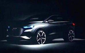 Audi готовит к выпуску компактный электрокроссовер: опубликованы первые фото