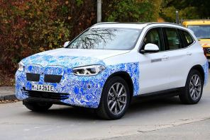 Электрокроссовер BMW iX3 в камуфляже был замечен на тестах: опубликованы фото