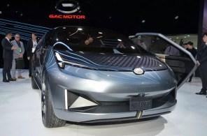 Снаружи - пуля, внутри - самолет: китайцы представили необычный электромобиль GAC Entranze