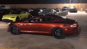 Исторический момент: готовый прототип электромобиля Aston Martin RapidE показался на публике