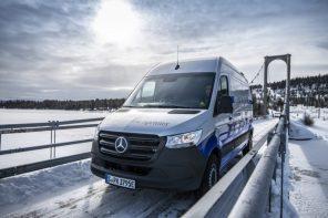 150 км на одном заряде: Mercedes eSprinter проходит испытания морозами перед запуском в серию