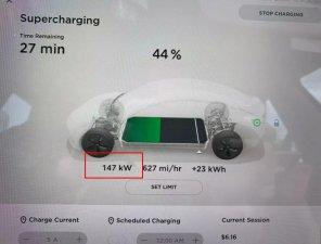 Tesla начала увеличивать мощность зарядки на своих станциях Supercharger до 250 кВт