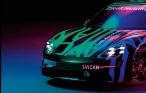 Электромобиль Porsche Taycan засветился на новых фото в камуфляже