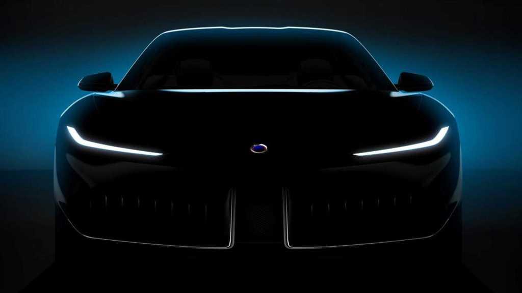 Новый электромобиль Karma Vision представят уже в Шанхае, а пока - тизер