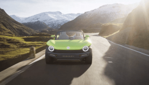 Volkswagen представил интересный фан-мобиль - электрический ID. BUGGY