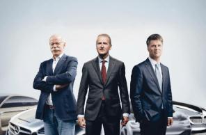 Три заядлых немецких конкурента решили объединиться ради электромобилей