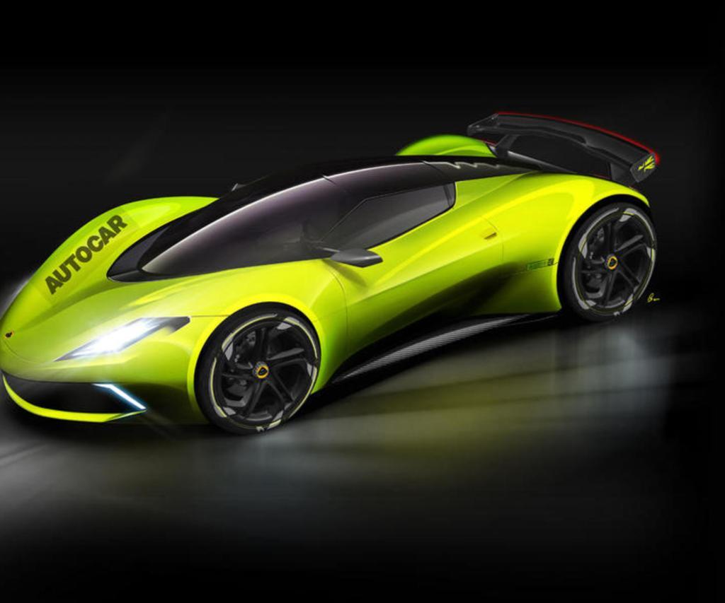 Lotus Type 130 будет полностью электрическим гиперкаром