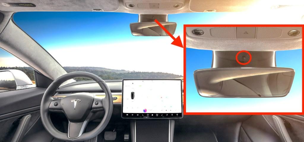 Илон Маск рассказал, зачем нужна внутренняя видеокамера в Tesla