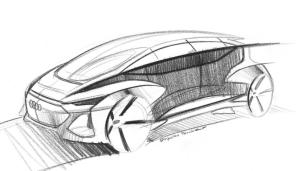 Немцы представили первые эскизы компактного электромобиля Audi AI:me