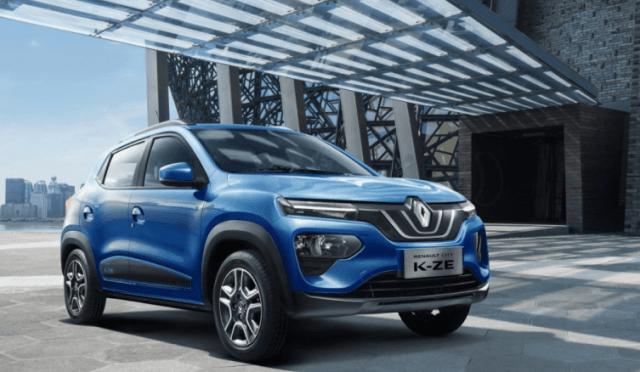 Renault показали, как будет выглядеть их бюджетный электрокроссовер K-ZE