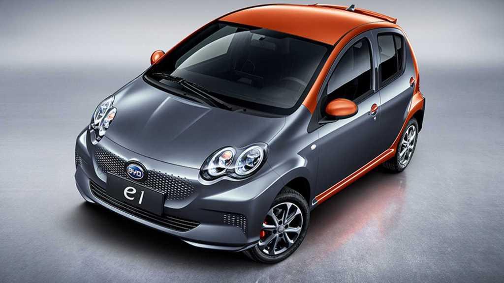 Китайский электромобиль BYD e1 за 00 начал неплохо продаваться на родине