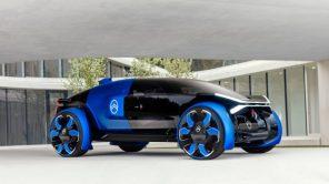 Два на семью: Citroen представил футуристичный электромобиль для дальних поездок