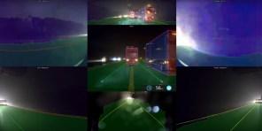 """Видео дня: как """"автопилот"""" Tesla видит дорожную обстановку в дождь"""