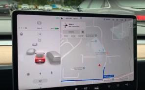 Видео дня: Tesla обновила визуализацию навигационной системы электромобилей - смотрится круто
