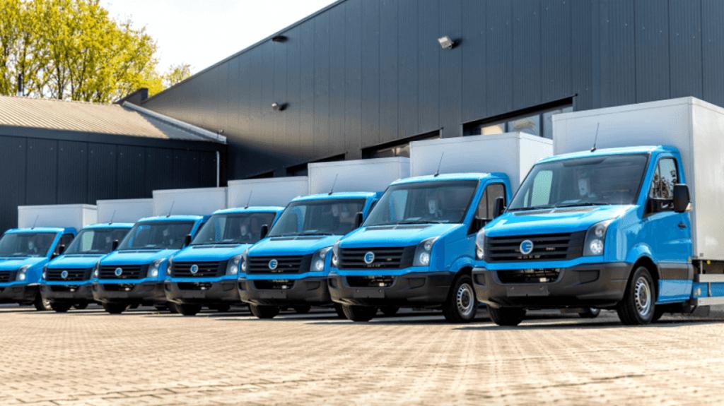 Сеть супермаркетов переоборудует обычные грузовики в электромобили