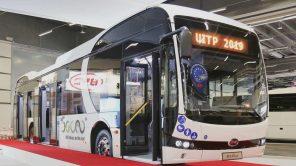 250 км на одном заряде: BYD представил обновленный 12-метровый электробус