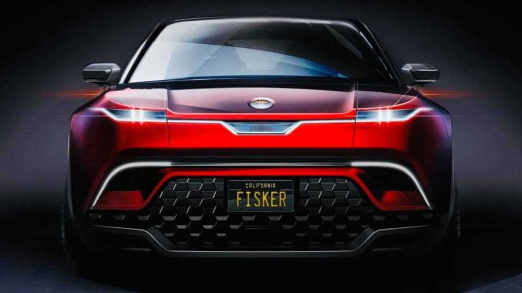 Fisker выпустит электрический кроссовер: опубликован тизер