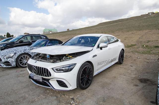 3 секунды до сотни: заряженный Mercedes-AMG  GT73 получит гибридную версию