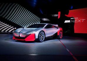 Наследник i8: BMW представили гибридный концепт-кар Vision M NEXT