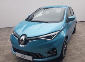 Обновленный Renault Zoe показали до официальной презентации: что изменилось