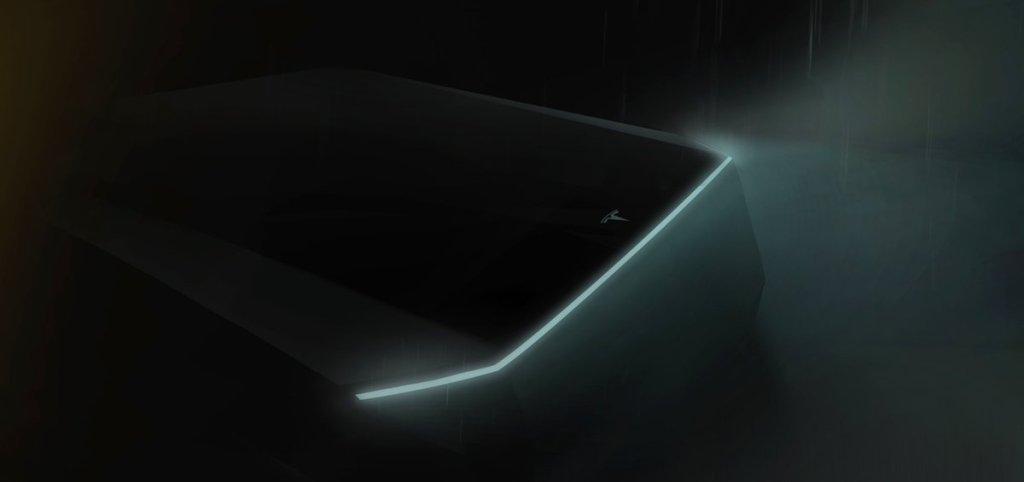 Илон Маск показал тизер электропикапа Tesla: его неправильно поняли