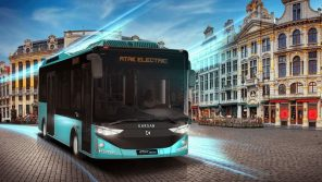 В Турции представили 8-метровый электробус Karsan с батареей от BMW i3