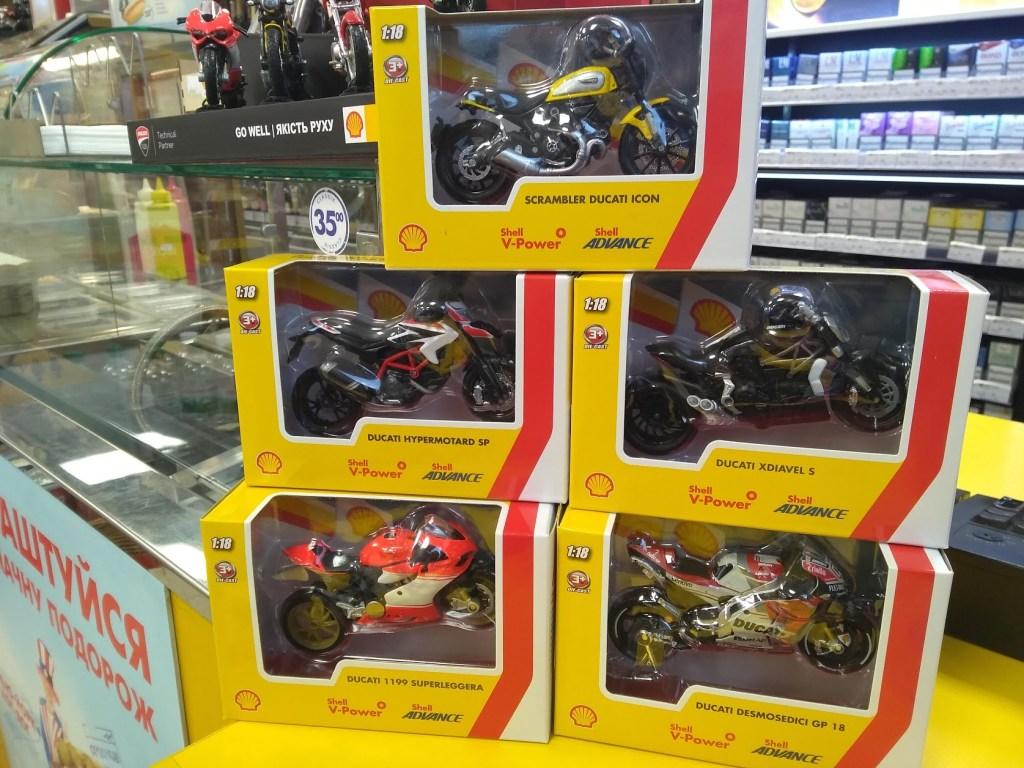 Как собрать коллекцию крутых мотоциклов Ducati по акции на Shell быстрее: советы и лайфхаки