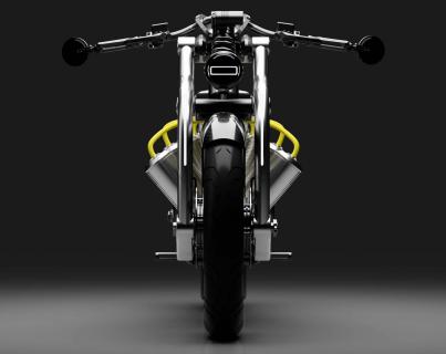 Батареи, как V8: оригинальный электробайк Curtiss Motorcycles оценили в  000
