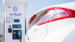 Станции зарядки электромобилей STRUM заработали на трассе Киев-Полтава: карта