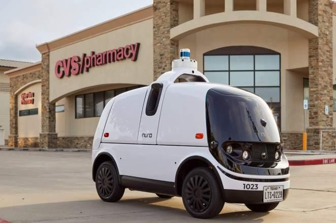 Автономні роботи-доставщики Nuro R2 офіційно прийняті на роботу