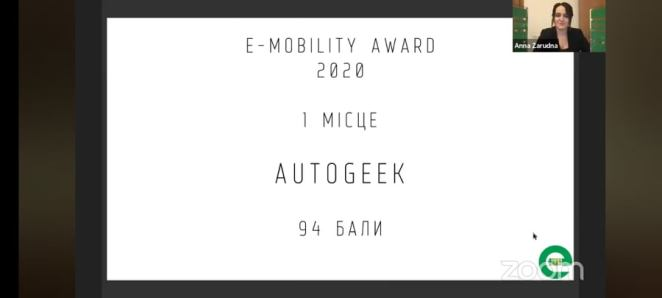 AUTOGEEK визнали найкращим електромобільним виданням в Україні