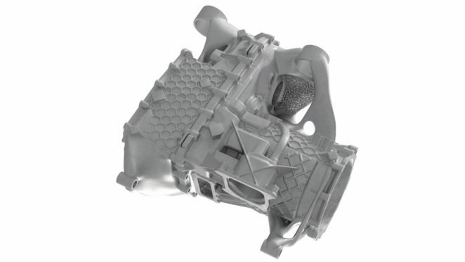 Porsche вперше надрукували на 3D-принтері блок електроприводу