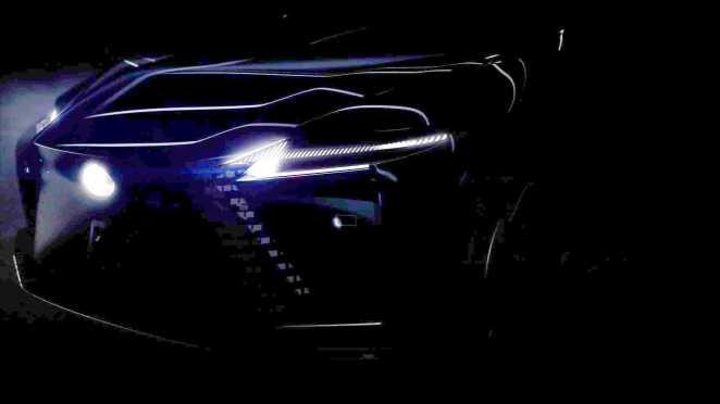Lexus показав нові фото майбутнього електромобіля, але не усього