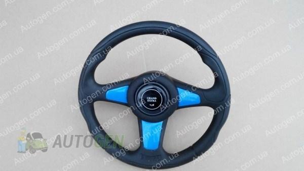 Руль ВАЗ 21012107 нива 2121 21213 тайга Grand Extra синий