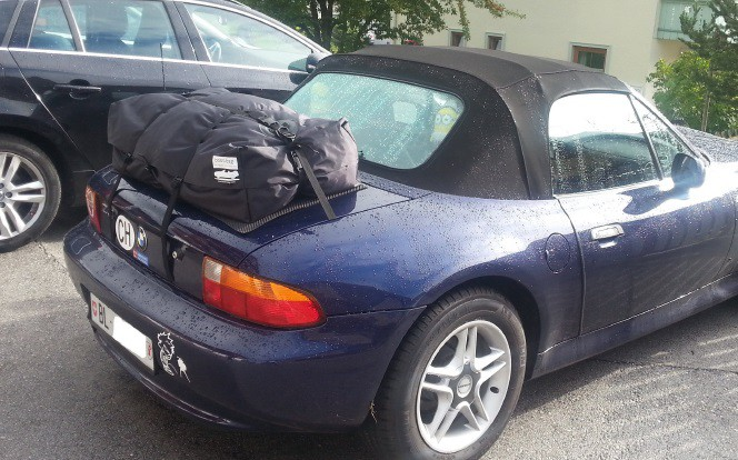 Z3 BMW Gepäckträger
