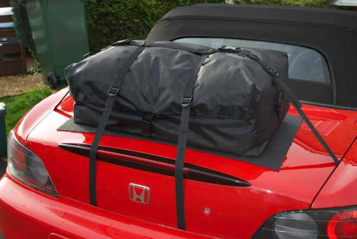 Honda S2000 Gepäckträger : Bootbag original
