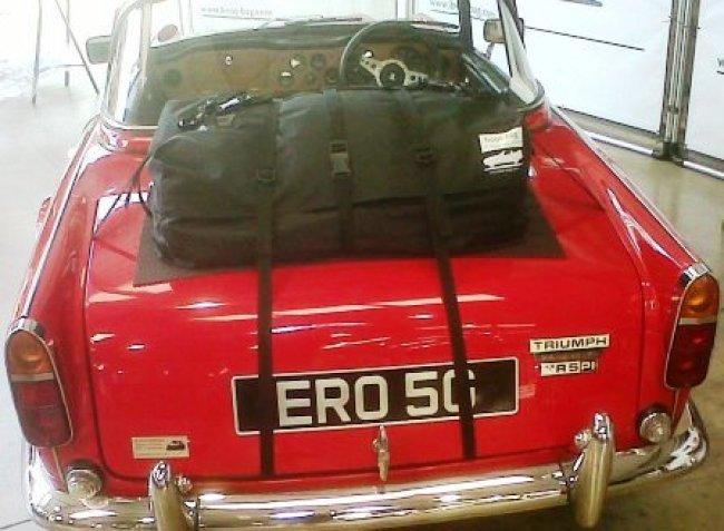 Triumph TR5 Gepäckträger