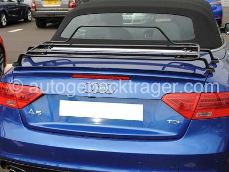 Audi A5 Cabrio Schwarz Gepackträger