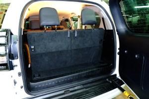 установка 3-й ряд сидений тойота прадо 150