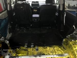 Шумоизоляция багажника Прадо 150