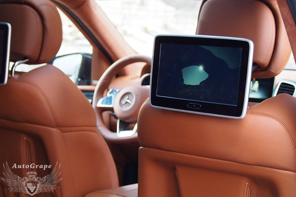 Мониторы для задних пассажиров Mercedes GLS