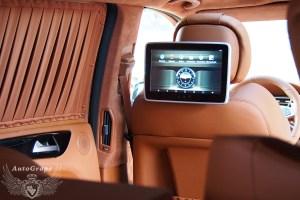 задние мониторы для Mercedes