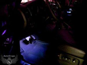 Подсветка ног Тойота