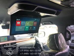 Потолочный монитор на Тойота