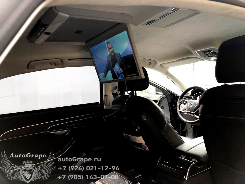 Потолочный монитор Audi A8